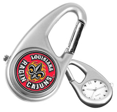 Louisiana Lafayette Ragin Cajuns Carabiner Watch