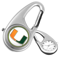 Miami Hurricanes Carabiner Watch