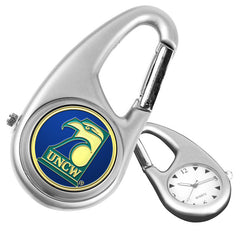 North Carolina Wilmington Seahawks Carabiner Watch
