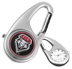 New Mexico Lobos Carabiner Watch
