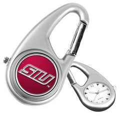 Southern Illinois Salukis Carabiner Watch