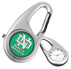 North Dakota Fighting Sioux Carabiner Watch