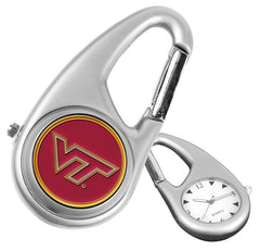 Virginia Tech Hokies Carabiner Watch