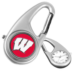 Wisconsin Badgers Carabiner Watch