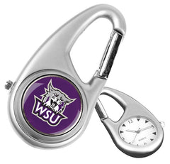 Weber State Wildcats Carabiner Watch