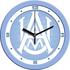 Alabama A&M Bulldogs Blue Wall Clock