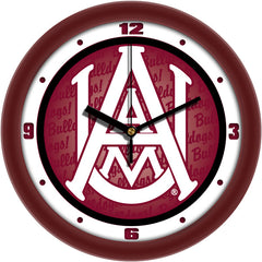 Alabama A&M Bulldogs Dimension Wall Clock