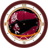 Alabama A&M Bulldogs Slam Dunk Wall Clock