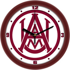 Alabama A&M Bulldogs Traditional Wall Clock