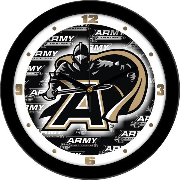 Army Black Knights Dimension Wall Clock