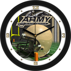 Army Black Knights Football Helmet Wall Clock
