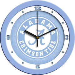 Alabama Crimson Tide Blue Wall Clock