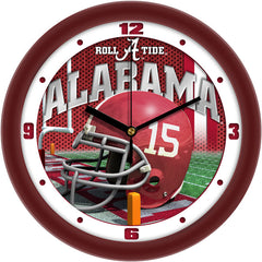 Alabama Crimson Tide Football Helmet Wall Clock