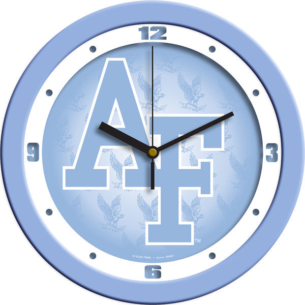 Air Force Falcons Blue Wall Clock