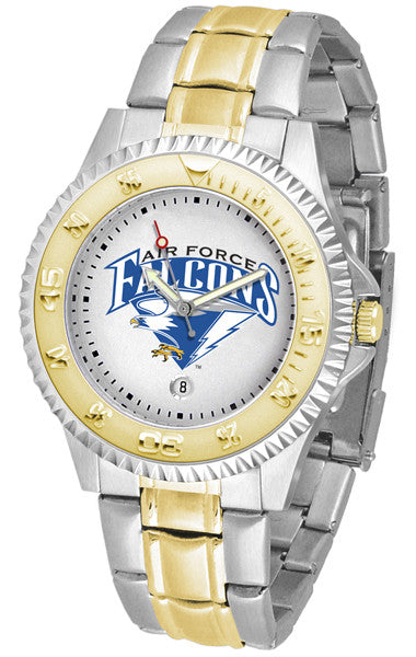 Air Force Falcons Competitor Two Tone Watch