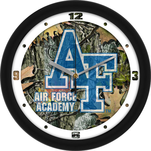 Air Force Falcons Camo Wall Clock
