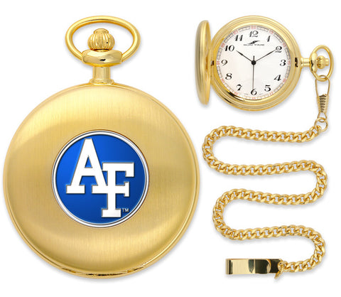 Air Force Falcons Gold Pocket Watch