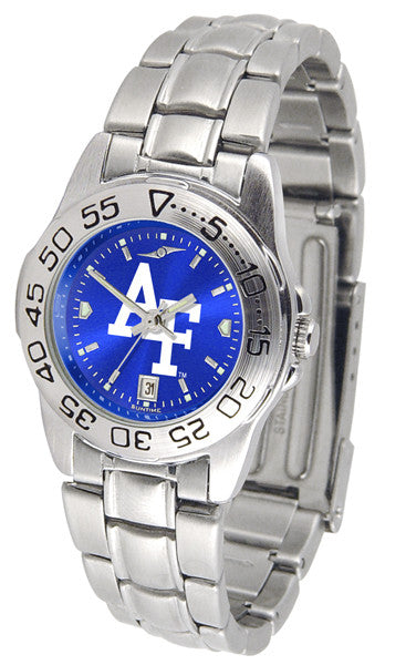 Air Force Falcons Womens Sport Steel Anochrome Watch