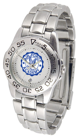 Air Force Falcons Womens Steel Sports Watch