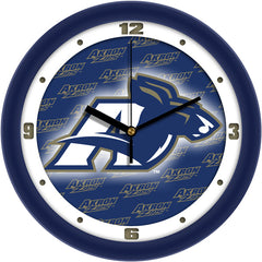 Akron Zips Dimension Wall Clock
