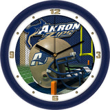 Akron Zips Football Helmet Wall Clock