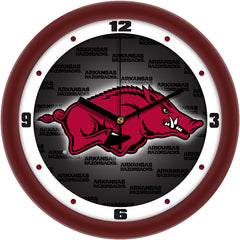 Arkansas Razorbacks Dimension Wall Clock