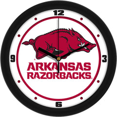 Arkansas Razorbacks Traditional Wall Clock