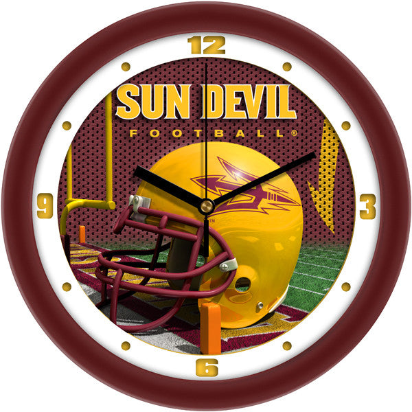 Arizona State Sun Devils Football Helmet Wall Clock