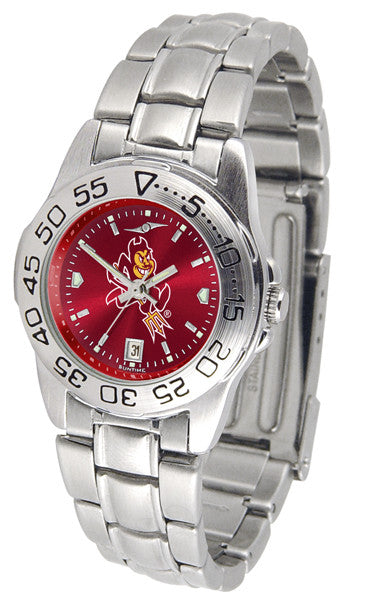 Arizona State Sun Devils Womens Sport Steel Anochrome Watch