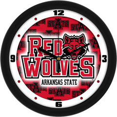 Arkansas State Red Wolves Dimension Wall Clock