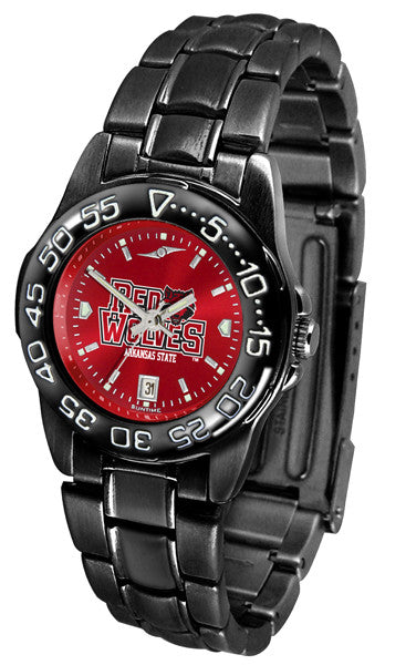 Arkansas State Red Wolves Womens Fantom Sport Anochrome Watch
