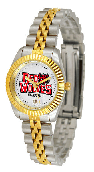 Arkansas State Red Wolves Womens Executive Watch
