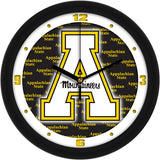 Appalachian State Mountaineers Dimension Wall Clock