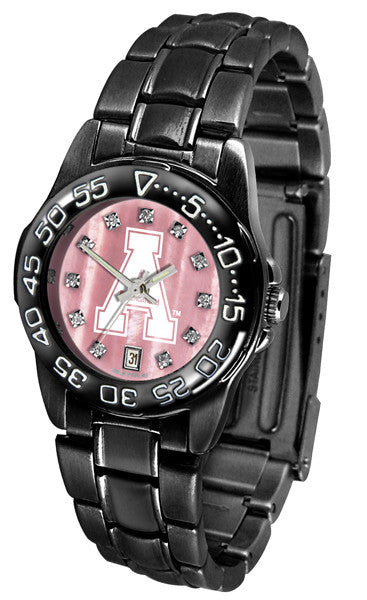 Appalachian State Mountaineers Womens Fantom Sport Mother of Pearl Watch
