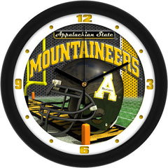Appalachian State Mountaineers Football Helmet Wall Clock