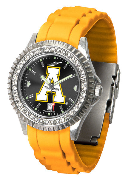 Appalachian State Mountaineers Womens Sparkle Watch