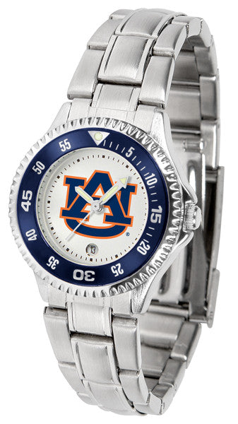 Auburn Tigers Womens Competitor Steel Watch