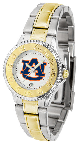 Auburn Tigers Womens Competitor Two Tone Watch