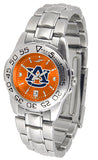 Auburn Tigers Womens Sport Steel Anochrome Watch