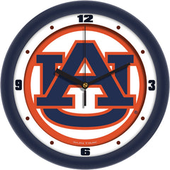 Auburn Tigers Traditional Wall Clock