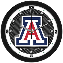 Arizona Wildcats Carbon Fiber Wall Clock