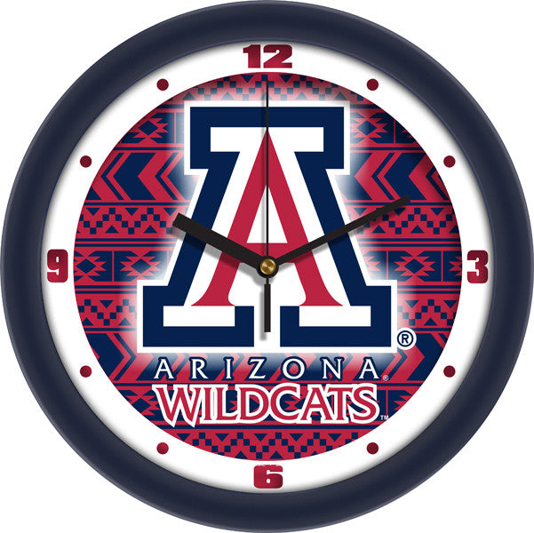 Arizona Wildcats Dimension Wall Clock