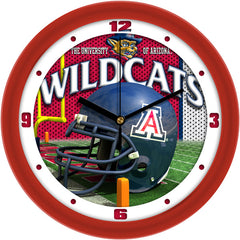 Arizona Wildcats Football Helmet Wall Clock