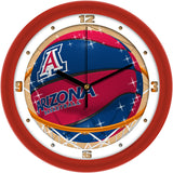 Arizona Wildcats Slam Dunk Wall Clock