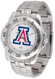 Arizona Wildcats Steel Sports Watch
