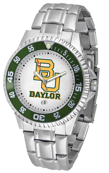 Baylor Bears Competitor Steel Watch