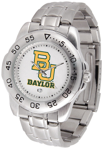 Baylor Bears Steel Sports Watch
