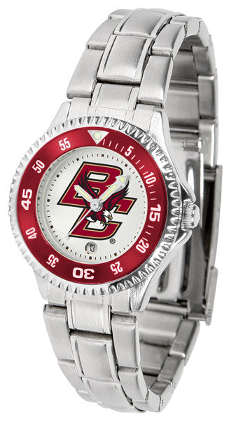 Boston College Eagles Womens Competitor Steel Watch