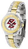 Boston College Eagles Womens Competitor Two Tone Watch