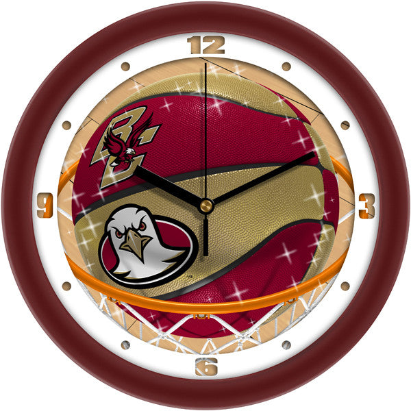 Boston College Eagles Slam Dunk Wall Clock